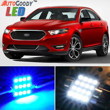 11 x Premium Blue LED Lights Interior Package for Ford Taurus 2008-2017 + Tool