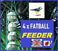 FATBALL or APPLE ~ WILD BIRD FEEDER ~ Holds 4 items ~ Simple Design !