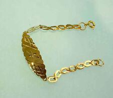KINDER UND BABY ARMBAND  750 GOLD 18 KT  12 cm   wunderschönes Geschenk  NEU
