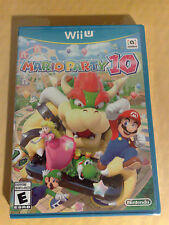 Nintendo Wii U Mario Party 10 Brand New Factory Sealed!!