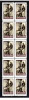 STEELY DAN ROCK ICONS STRIP OF 10 MINT VIGNETTE STAMPS 4
