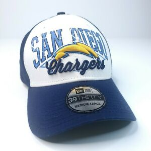 San Diego Chargers Medium-Large New Era NFL 39THIRTY Cap Hat NWT