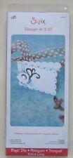 NEW SIZZIX BIGZ XL DIE SCALLOP CARD #3 656454