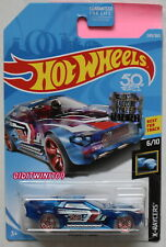 HOT WHEELS 2018 X-RAYCERS BULLET PROOF #6/10 BLUE FACTORY SEALED