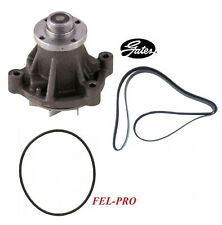 GATES Water Pump & Belt & Gasket For 2003-2006 FORD E-450 SUPER DUTY V10 6.8L