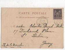 Charles Denet Aubin Duhamel Place St Helier Jersey 1901 708a