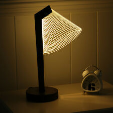 3D illusion Bulbing Night Desk Table Lamp LED Light (only US regular plug left)