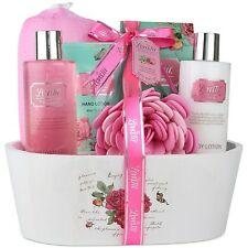 Christmas-Spa-Bath And Body Works-Gift-Basket-Set Shower-Soap-Her-Women-Mom New