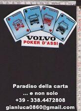 ADESIVO STICKER (camion Volvo - poker d'assi)