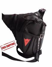 Drop Leg Motorcycle Dirt Bike ATV Cycling Sports Pack Waist Belt Bag Black 1pc