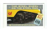GB317) Great Britain 1986 Story of British Rail Prestige Booklet OVERPRINT MUH