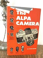 New ListingThe Alpa Camera; Jacob Deschin; 1959; Good condition