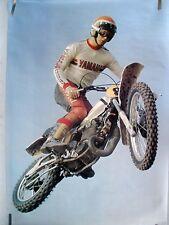 RARE YAMAHA MOTOCROSS 1978 VINTAGE ORIGINAL MOTORCYCLE POSTER