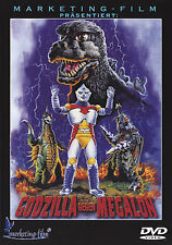 Godzilla vs. Megalon , 100% uncut , new and sealed , Sci-Fi Cult Movie
