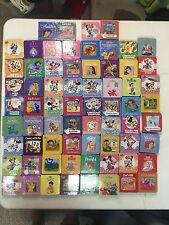 Lot of 67 Mini Kids Books! Many VINTAGE! Disney, Sesame Street Ect Hardcover