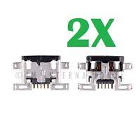 2X Motorola Droid Turbo XT1254 Dock Connector Micro USB Charger Charging Port