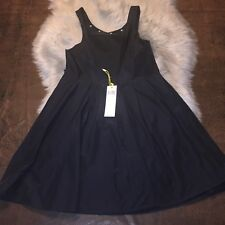 NWT BCBG Generation Simple Black Cocktail Dress Size 8 Sexy Retails $128