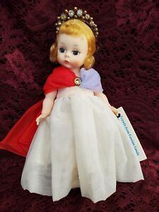 "Vintage Madame Alexander Miss U.S.A. Style 728 Vinyl Bent Knee Doll 8"" ORG Box"
