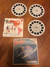 BARBIE'S AROUND THE WORLD TRIP*VIEW-MASTER*1965*VINTAGE*