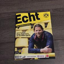 BVB @ BORUSSIA DORTMUND@Stadionmagazin ECHT@Heft Nr. 129@BVB - Köln@Weidenfell
