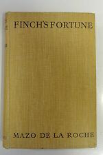 Book. Finch's Fortune by Mazo De La Roche. Hardback. Pub. 1935 by Macmillan.