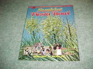 1986 Fiesta Bowl Football Program Nebraska Cornhuskers v Michigan Wolverines