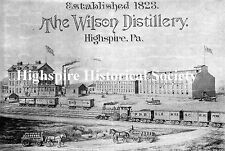 Highspire Historical Postcard - Wilson Distillery
