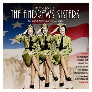 THE ANDREWS SISTERS - THE VERY BEST OF - 2 CDS - NEW!!