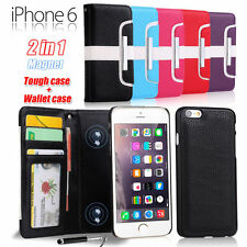 Unbranded/Generic Synthetic Leather Mobile Phone Wallet Cases for iPhone 6