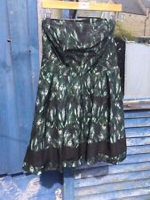 BNWT Vintage Style DOROTHY PERKINS,  Peacock Print Cocktail  Dress, Size 14, #10