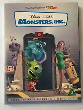 Monsters Inc. Collectors Edition 2 Disc Set DVD