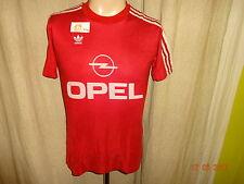 """FC Bayern München Adidas Deutscher Meister Trikot 1989/90 """"OPEL"""" + Nr.11 Gr.S"""