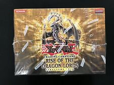 Yugioh 1st Edition Rise Of The Dragon Lords Structure Deck Sealed Box