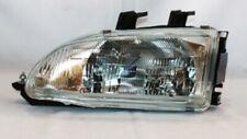 TYC Left Passenger Side Halogen Headlight for Honda Civic 1992-1995