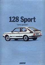 Fiat 128 Sport Serie Speciale 1978 French market sales brochure