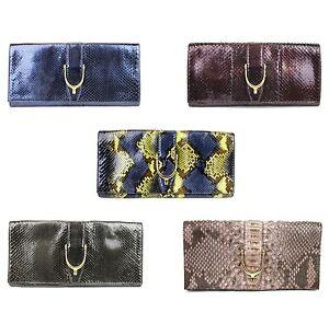 $2400 New Authentic Gucci Soft Stirrup Python Clutch Evening Bag Large 304719