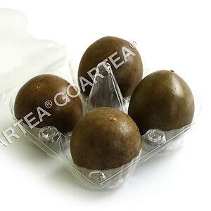 GOARTEA 4Pcs Luohanguo Monk Fruit Siraitia Grosvenorii Momordicae Herbal Tea