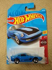 2019 Hot Wheels Track Stars Nissan 5/5 - Nissan Fairlady Z (Blue)