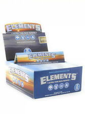 Elements 1.25 Rolling Paper - Full Box of 50 PACKS - Ultra Thin Rice 1 1/4 Size