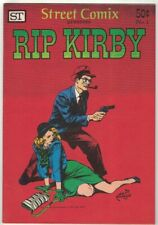 STREET COMIX #1 - (RIP KIRBY #1) BY ALEX RAYMOND - STREET ENTERPRISES/1973