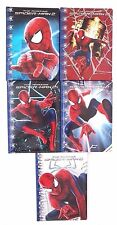 Marvel The Amazing Spider-Man Boy's Kids Hardcover 5 Piece Graphing Notebook Set