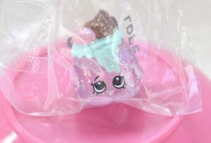Shopkins Food Fair *NEW* ULTRA RARE!!! Pink Glitter CHOCO LAVA FF-052 Authentic