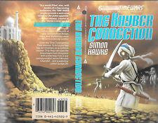 Simon Hawke autographed book cover
