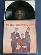 THE BEATLES Introducing the in SHRINK LP Vinyl VG+/VG+