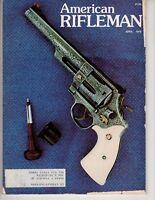 American Rifleman Magazine April 1978 Smith & Wesson .44 Magnum Revolver