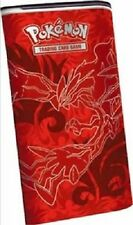 Pokemon XY Furious Fist RED YVELTAL Elite Trainer Deck Shield Tin Box  w Booster