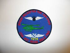b8125 US Navy Vietnam Air NHABE Helicopter Fuel And Ammo USA DET Helo Pad ir28c