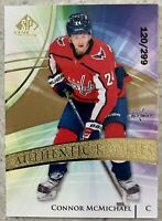 2020-21 UD SP Game Used Connor McMichael AUTHENTIC ROOKIES Capitals SP /299
