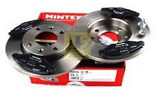 MINTEX FRONT BRAKE SET DISCS, PADS CITROEN PEUGEOT MDK0209 (REAL IMAGE OF PART)