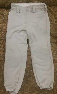 Augusta Womens St Small gray Baseball Softball Pants